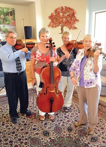 Les Stukenberg/The Daily Courier<br> The Prescott Chamber Players will perform Sunday at Trinity Presbyterian, 630 Park Ave., Prescott.