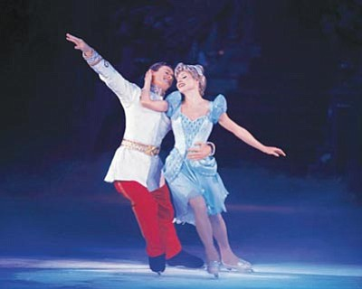 """Courtesy photo<br>The """"Princesses on Ice"""" show haunts many dads' dreams."""