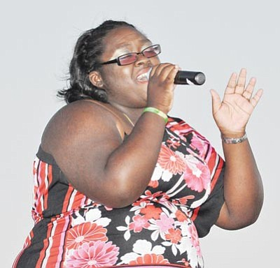 "Courtesy photo/Heidi Dahms Foster<br> Nicosia ""Coco"" Garrison is the winner of the 2012 PV Idol contest."