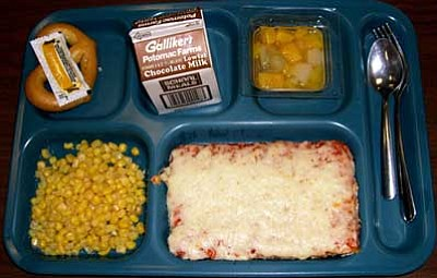 Courtesy photo<br> What did your school lunches look like -- back in the day?