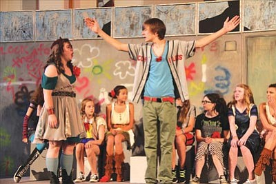 "A teen cast will perform ""Godspell"" July 26-28 at Trinity Presbyterian Church's Park Avenue Theater.<br /><br /><!-- 1upcrlf2 --><br /><br /><!-- 1upcrlf2 -->Courtesy photo"