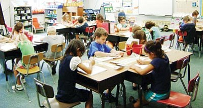 Arlington, Va., Public School courtesy photo<br> In 2010, Virginia spent an average of $10,597 per public grade school student, like those shown here, compared to $7,848 spent per pupil in Arizona in the same year.