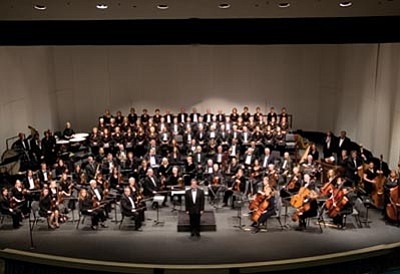 Courtesy photo<br>The Prescott POPS Symphany will perform at 3 p.m. Sunday in the Yavapai College Performing Arts Center.
