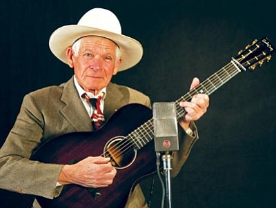 Courtesy photo<br> Don Edwards performs tonight at Yavapai  College.