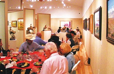 Phippen Museum/Courtesy photo<br>An evening of Western-themed entertainment, food and great art are in store Sept. 15 when the Phippen Museum celebrates its 7th annual Fall Gathering at the museum at 4701 Highway 89 North. Tickets are on sale now at the museum.
