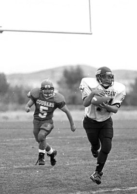 Courier file<br>Bradshaw Mountain and Chino renew their series, which started in 1993. The Bears are 5-0 all-time against the Cougars.