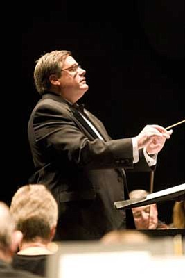 Courtesy photo<BR>  Paul Manz, founding conductor of the Prescott POPS Symphony, will conduct the orchestra in a concert Sunday, Sept. 30, at the Yavapai College Performing Arts Center.