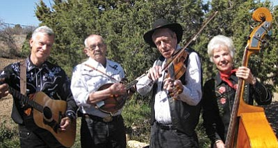 The Potato Patch String Band will perform Thursday in a Prescott Opry concert at  the Elks Opera House.<br>  Courtesy photo