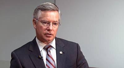 Cassondra Strand/Courtesy photo<br>Maricopa County Attorney Bill Montgomery has become the public face of the opposition against Proposition 121, a ballot measure that would create an open primary system that would advance the top two candidates, regardless of party, to the general election.