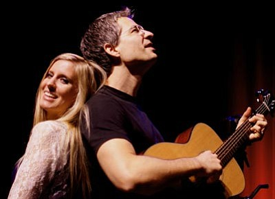 Courtesy photo<br>Jayne Kelli and AJ Swearingen will sing hits of the '60s and '70s Nov. 3 at the Elks Opera House.