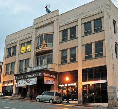 Matt Hinshaw/The Daily Courier<br>The Elks Opera House was recently sold by the City of Prescott to the nonprofit organization the Elks Theater Performing Arts Center.