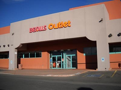 Meredith Seiverd/Courtesy photo<br /><br /><!-- 1upcrlf2 -->Bealls discount retailer, selling apparel, accessories and décor, is coming to Prescott. Above is the chain's Sedona store.