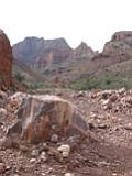 Red Canyon Near the Colorado River