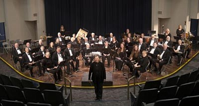 Courtesy photo<br>The Central Arizona Concert Band promises a lively evening of entertainment on Sunday, Jan. 27.