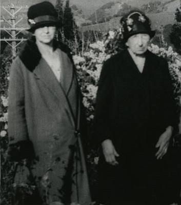 Sharlot Hall Museum/Courtesy photo<br>Big Nose Kate poses with her sister-in-law, Mrs. Alexander Haroney, in the 1930s. Kate's brother, Alexander, had a ranch near Redstone, Colo., and she visited him at least twice at the ranch – once in 1887, as Doc Holliday lay dying in nearby Glenwood Springs, and again shortly before she entered Prescott's Arizona Pioneers Home.