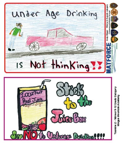 3 Kids Win Matforce Contest By Designing Posters