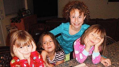 Courtesy photo<br>Casey hopes his daughters won't inherit his beard.
