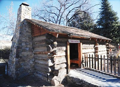 Les Stukenberg/The Daily Courier<br /><br /><!-- 1upcrlf2 -->Fort Misery, located on the grounds of the Sharlot Hall Museum in Prescott, is the oldest log cabin in Arizona and is likely the only structure in Yavapai County that dates back to 1863.<br /><br /><!-- 1upcrlf2 -->