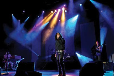 Courtesy photo<br>Tribute band Strange Days will play iconic Doors songs at the Elks Opera House 7:30 p.m. Friday.