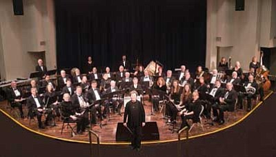 Courtesy photo<br>The Central Arizona Concert Band will perform selections for brass-wind instruments Sunday at Embry-Riddle's Davis Learning Center.
