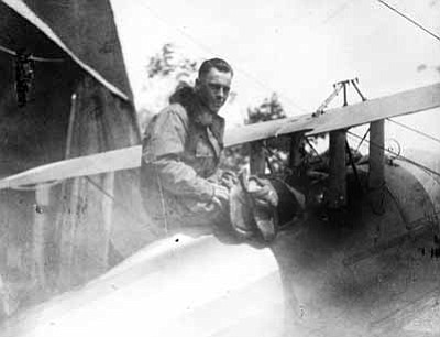 ERAU/Courtesy photo<br> Ralph O'Neill, who served in the same unit as Prescott's Ernest A. Love, had five confirmed kills in World War I.