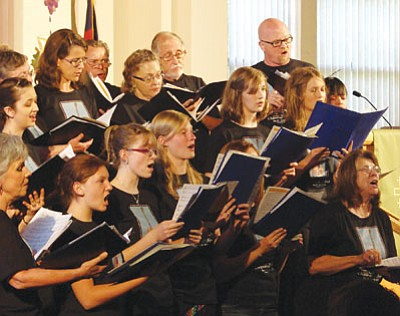 Courtesy photo <br /><br /><!-- 1upcrlf2 -->An adult choral group performs during a Chaparral MusicFest concert in 2012.<br /><br /><!-- 1upcrlf2 -->