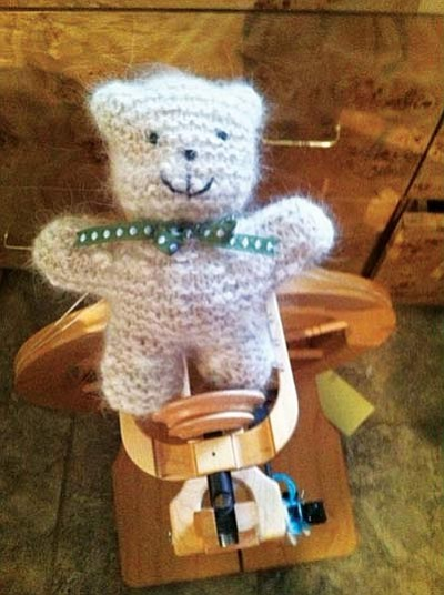 "Courtesy photo<br /><br /><!-- 1upcrlf2 -->""Socks Judy"" will be spinning at Woof Down Lunch Saturday, June 1, on the courthouse plaza in Prescott. Socks Judy will create a small bear for a $30 donation benefiting United Animal Friends."