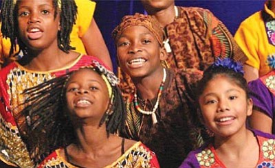 Courtesy photos<br /><br /><!-- 1upcrlf2 -->The Matsiko choir will be in Prescott for two performances on May 29. The choir has two goals, to stimulate awareness of children in third-world countries and to raise money for those kids' educations.