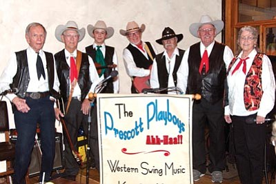 Lee Power/Courtesy photo<br> The Prescott Playboys will perform in the Prescott Opry concert at the Elks Opera House 7 p.m. Thursday, June 13. Tickets are $12-$17.