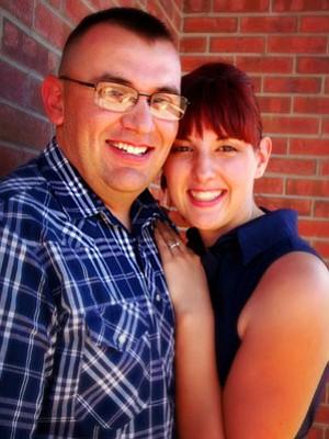 Breanna Muncy and Mark Garcia