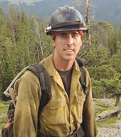 Courtesy photo<br> Brendan McDonough, who was the lookout for the Granite Mountain Hotshots on Sunday, was the lone member of the crew to survive.