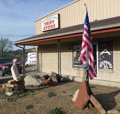 """Courtesy photo<br> The DAV Chapter 16, Prescott, """"TRIFT"""" Store is on 5th Street in Prescott."""
