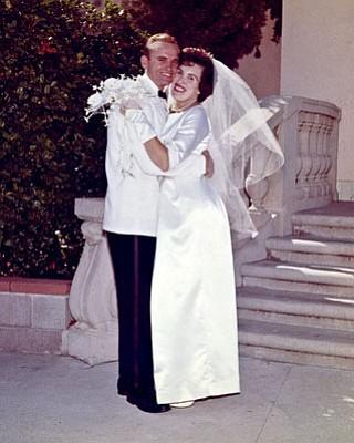 Then: Lorraine June Tomlinson and William E. Tomlinson Jr.