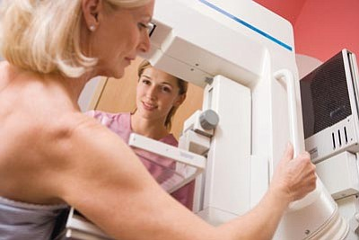 Photos.com<br>Yavapai County Community Health Services and Yavapai Regional Medical Center's BreastCare Center offer low-income women annual mammograms at little to no cost.