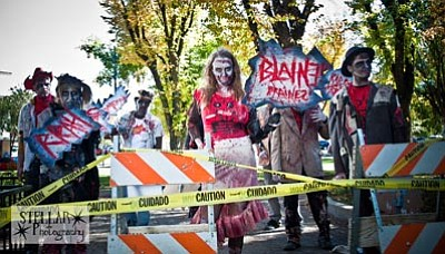 """Courtesy photo<br>""""Dead Votes Society,"""" a horror comedy, is one of three Halloween-season films showing Saturday at the Elks Opera House."""