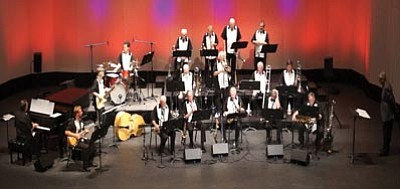 Courtesy photo<br>Yavapai College big bands The Trailblazers and The Roughriders open their season with a fall concert Monday, Oct. 21.