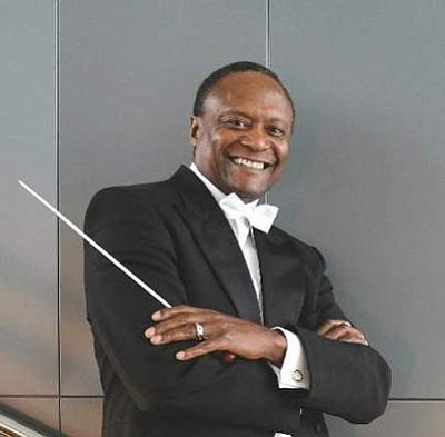 Courtesy photo<br /><br /><!-- 1upcrlf2 -->Thomas Wilkins will be the guest conductor at the Phoenix Symphony's Sunday concert.