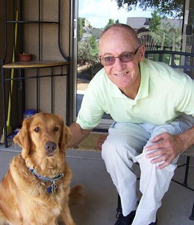 Jerry Wetzel with Maddie