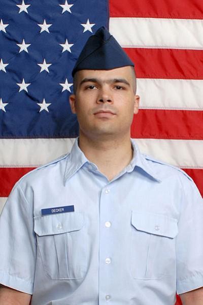 Air Force Airman James P. Decker