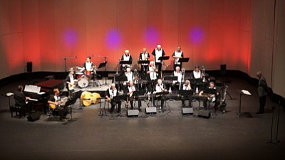 Courtesy photo<br> Musicians perform at a recent event at the Yavapai College Performing Arts Center. Over the next week, groups will present a pair of holiday-related musical events.