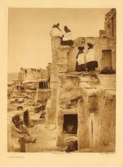 Courtesy photo<br> On the Housetop by Edward S. Curtis