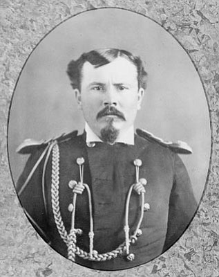"""Sharlot Hall Museum/Courtesy photo<br>Lt. Earl D. Thomas was one of the """"stage-struck soldiers"""" who performed in the Fort Whipple theater production of """"The Dead Shot"""" in 1877."""