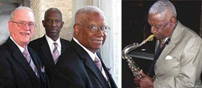 Milt Cannon/Courtesy photo<br> The Foster Oden Trio, left, is scheduled to pair up with Prescott Jazz Society founder Milt Cannon on Jan. 30 at El Gato Azul to kick off the society's opening season.