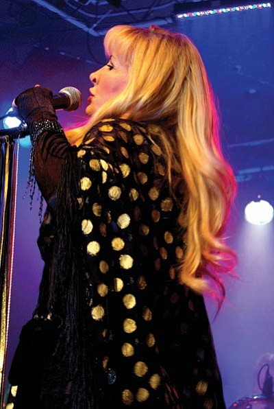 Courtesy photo<br> Michelle Tyler will perform the music of Stevie Nicks and Fleetwood Mac Saturday at the Elks Opera House.