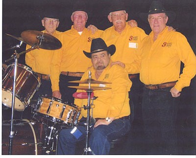 Courtesy photo<br> 3 Wheel Drive will perform with the Prescott Opry Thursday, Feb. 13 at the Elks Opera House.