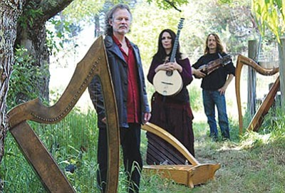 Courtesy photo<br>Legends of the Celtic Harp will perform 7 p.m. today at Trinity Presbyterian Church, 630 Park Ave. Tickets are $15 in advance and $20 at the door.
