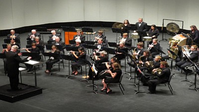 Courtesy photo<br> The Yavapai College Instrumental Department Concert Band