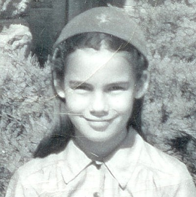 Courtesy photo<br> Melanie Jacobson, aged 11.