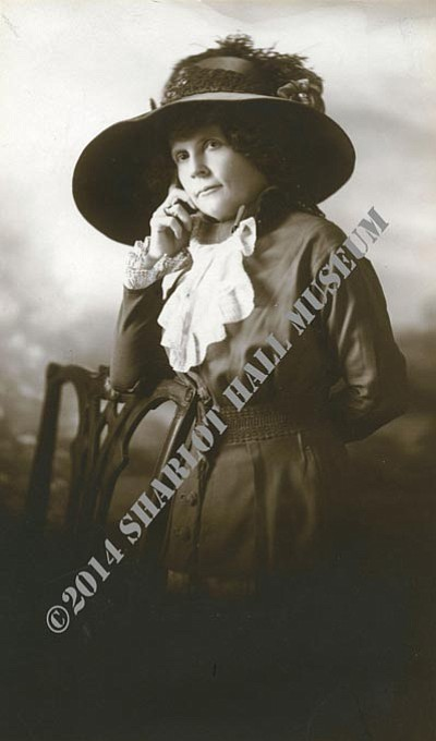 Sharlot Hall Museum/Courtesy photo<br>Frances Munds was an Arizona pioneer in every sense of the word, including women's suffrage.