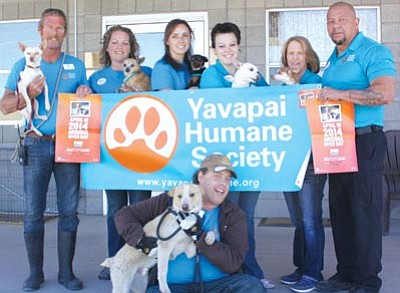Courtesy photo<br>Every day 9,000 pets are killed in American shelters. However, the Yavapai Humane Society bucks that trend. YHS is the safest shelter in Arizona and among the safest in the nation with a lifesaving rate of 97 percent. A better tomorrow begins with a better today. Support the Yavapai Humane Society and save lives on Arizona Gives day. Visit www.azgives.org for more information.